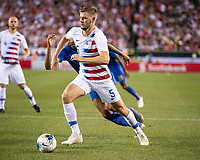 PHILADELPHIA, PA - JUNE 30: Walker Zimmerman #5 during a game between Curaçao and USMNT at Lincoln Financial Field on June 30, 2019 in Philadelphia, Pennsylvania.