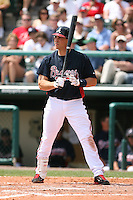 March 23rd 2008:  Mark Teixeira of the Atlanta Braves during a Spring Training game at Osceola County Stadium in Kissimmee, FL.  Photo by:  Mike Janes/Four Seam Images