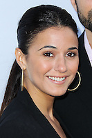 SANTA MONICA, CA, USA - JUNE 11: Emmanuelle Chriqui at the Pathway To The Cures For Breast Cancer: A Fundraiser Benefiting Susan G. Komen held at the Barker Hangar on June 11, 2014 in Santa Monica, California, United States. (Photo by Xavier Collin/Celebrity Monitor)