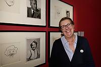 Isabelle TCHERNIA - Vernissage de l'exposition Goscinny - La Cinematheque francaise 02 octobre 2017 - Paris - France