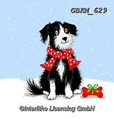 Kate, CHRISTMAS ANIMALS, WEIHNACHTEN TIERE, NAVIDAD ANIMALES, paintings+++++,GBKM629,#xa#