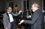 DIZZY ALFONS CON ALAN FRIEDMAN BALLANO <br /> COMPLEANNO ALAN FRIEDMAN  - PALAZZO SACCHETTI ROMA 2008