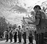 Folk on the Rocks, Yellowknife, 2013, Dene Drummers