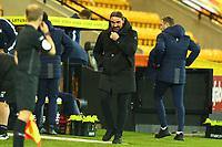 3rd November 2020; Carrow Road, Norwich, Norfolk, England, English Football League Championship Football, Norwich versus Millwall; Norwich City Manager Daniel Farke