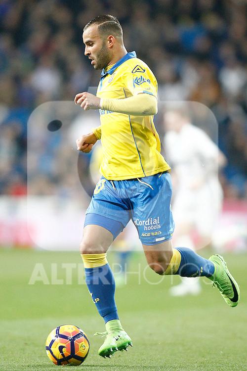 UD Las Palmas' Jese Rodriguez during La Liga match. March 1,2017. (ALTERPHOTOS/Acero)