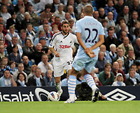 Pictured: Angle Rangell of Swansea City in action <br />