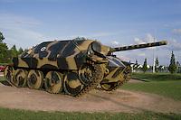"- Normandy, sites of allied landing of June 1944, German tank ""Hetzer"" exposed in the museum of Bayeux....- Normandia, i luoghi degli sbarchi alleati del giugno 1944, carro armato tedesco ""Hetzer"" esposto nel museo di Bayeux"
