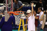 10 March 2008: Stanford Cardinal Jillian Harmon during Stanford's 56-35 win against the California Golden Bears in the 2008 State Farm Pac-10 Women's Basketball championship game at HP Pavilion in San Jose, CA.