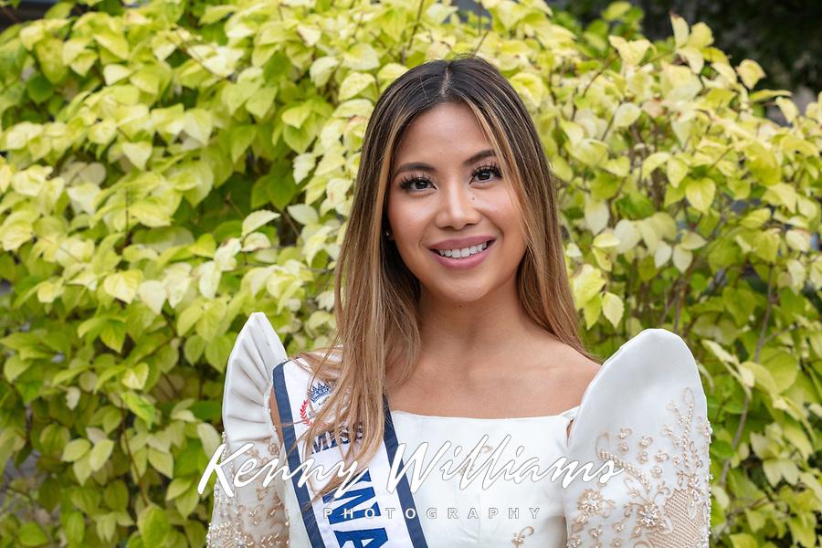 Miss Washington Contestant 2019, Renton Multicultural Festival, WA, USA.