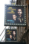 """""""Sea Wall / A Life"""" - Theatre Marquee"""