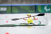 Susan Seipel / Final<br />Sea Forest Waterway <br />2020 Tokyo Paralympic Games<br />Paralympics Australia / Day 11<br />Tokyo Japan :  Saturday 4 September 2021<br />© Sportshoot / Delly Carr / PA
