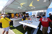 Santa Clara, CA - Friday June 03, 2016: Sprint booth prior to a Copa America Centenario Group A match between United States (USA) and Colombia (COL) at Levi's Stadium.