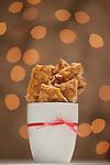 "20 October 2011 -- Maché Magazine Holiday shoot. Holiday shoot for Maché Magazine. Includes ""kids table"", cookie cutter fudge, peanut brittle and stocking stuffer candy stars. PHOTO/Daniel Johnson (Copyright 2011 Daniel Johnson)"