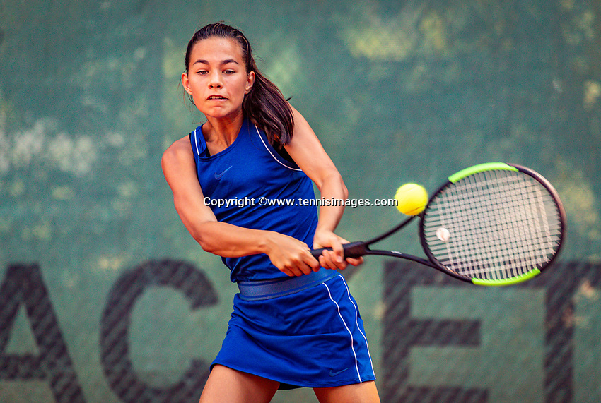 Hilversum, Netherlands, Juli 29, 2019, Tulip Tennis center, National Junior Tennis Championships 12 and 14 years, NJK, Diede van Gelder (NED)<br /> Photo: Tennisimages/Henk Koster
