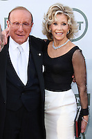 HOLLYWOOD, LOS ANGELES, CA, USA - JUNE 05: Clive Davis, Jane Fonda at the 42nd AFI Life Achievement Award Honoring Jane Fonda held at the Dolby Theatre on June 5, 2014 in Hollywood, Los Angeles, California, United States. (Photo by Xavier Collin/Celebrity Monitor)