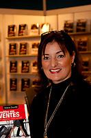 Helene Douville<br /> <br />  at montreal book fair, November 2015,<br /> <br /> <br /> PHOTO : Michel Karpoff<br /> <br />  - Agence Quebec Presse