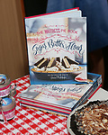 """""""Waitress"""" celebrate 'Sugar, Butter, Flour: The Waitress Pie Cookbook at The Brooks Atkinson Theatre on June 27, 2017 in New York City."""