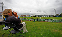 General view of the Spitfire Ground during Kent CCC vs Sussex CCC, LV Insurance County Championship Group 3 Cricket at The Spitfire Ground on 14th July 2021