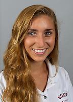 Gabby Stone member of Stanford women's water polo team. Photo taken Tuesday, September 25, 2012. ( Norbert von der Groeben )