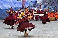 Punakha Tshechu at the Punakha Dzong, Bhutan