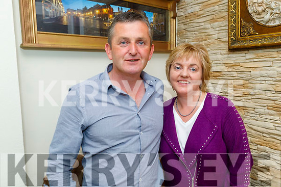 Liam and Sharon Brennan from Ballyheigue enjoying the evening in Bella Bia on Friday.