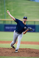 AZL Brewers starting pitcher Chase Williams (59) delivers a warmup pitch during a game against the AZL Cubs on August 1, 2017 at Sloan Park in Mesa, Arizona. Brewers defeated the Cubs 5-4. (Zachary Lucy/Four Seam Images)