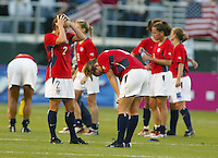 Team USA lose to Germany, 3-0, in Portland, OR, 2003 WWC.