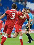 121111 Wales v Norway - Cardiff City Stadium