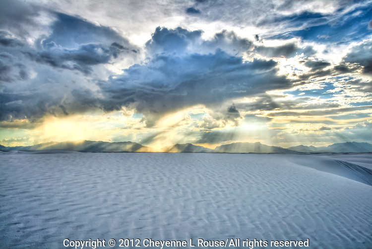 """""""Spiritual Experience"""" - White Sands, New Mexico - White Sands National Monument"""