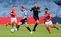 Sheffield Wednesday's Jordan Rhodes under pressure from Nottingham Forest's Tiago Silva <br /> <br /> Photographer Rich Linley/CameraSport<br /> <br /> The EFL Sky Bet Championship - Sheffield Wednesday v Nottingham Forest - Saturday 20th June 2020 - Hillsborough - Sheffield <br /> <br /> World Copyright © 2020 CameraSport. All rights reserved. 43 Linden Ave. Countesthorpe. Leicester. England. LE8 5PG - Tel: +44 (0) 116 277 4147 - admin@camerasport.com - www.camerasport.com
