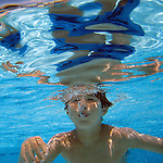 Josh Reed (5) of Mill Valley enjoys the first day of summer and hot weather in the local swimming pool in Mill Valley, California.