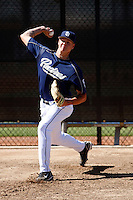 Mat Latos - San Diego Padres - 2009 spring training.Photo by:  Bill Mitchell/Four Seam Images