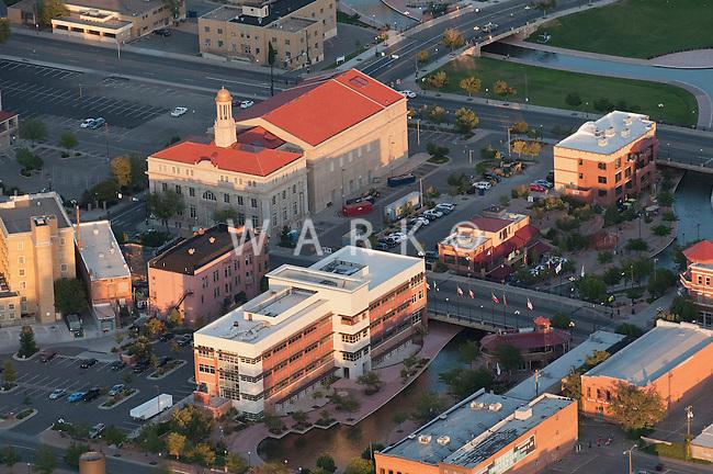 Aerial of Pueblo CO