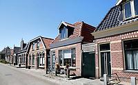 Nederland Stavoren- 2017.  Straatbeeld in het historische centrum van Stavoren.   Foto Berlinda van Dam / Hollandse Hoogte