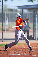 Alex Valastro (48), from Georgetown, Texas, while playing for the Orioles during the Under Armour Baseball Factory Recruiting Classic at Red Mountain Baseball Complex on December 28, 2017 in Mesa, Arizona. (Zachary Lucy/Four Seam Images)