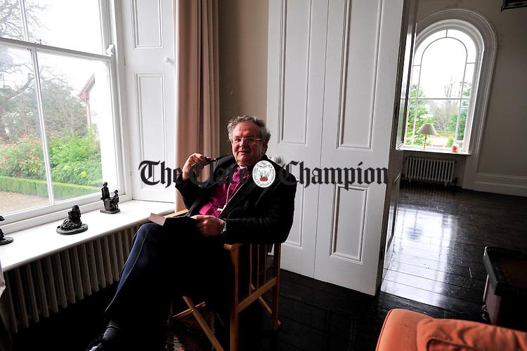 The Right Reverend Michael mayes Limerick.Pic Arthur Ellis.
