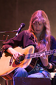 Grammy Winner Rory Block plays the blues at Bamfest  in Belleville Wisconsin on July 13, 2007 just south of Madison