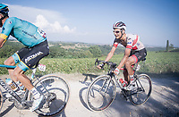 Davide Formolo (ITA/UAE-Emirates)<br /> <br /> 14th Strade Bianche 2020<br /> Siena > Siena: 184km (ITALY)<br /> <br /> delayed 2020 (summer!) edition because of the Covid19 pandemic > 1st post-Covid19 World Tour race after all races worldwide were cancelled in march 2020 by the UCI