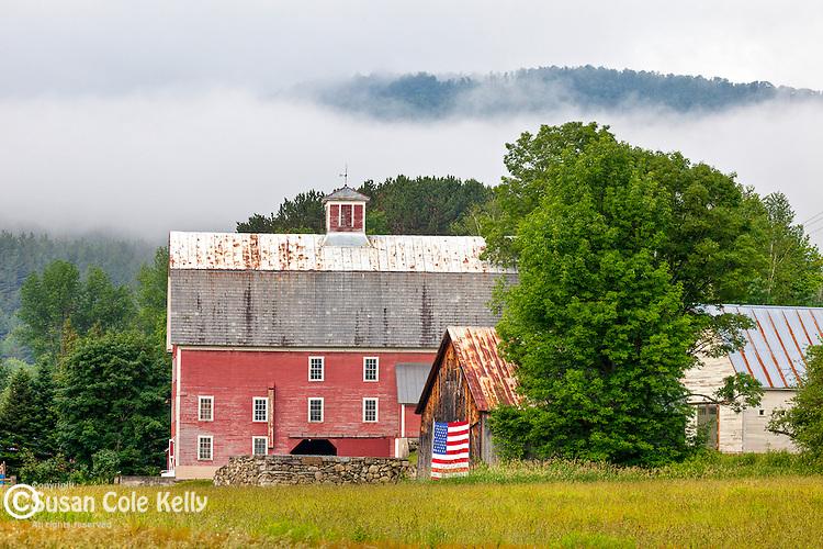 The Robinson Farm in West Woodstock, VT, USA