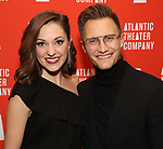 "Laura Osnes and Nathan Johnson attends the Atlantic Theater Company ""Divas' Choice"" Gala at the Plaza Hotel on March 4, 2019 in New York City."