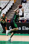Liga ENDESA 2019/2020. Game: 07.<br /> Club Joventut Badalona vs TD Systems Baskonia: 83-82.<br /> Ante Tomic.
