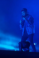 Weeknd performs at the Festival d'ete de Quebec (Quebec Summer Festival) on July 5, 2018. THE CANADIAN PRESS IMAGES/Francis Vachon