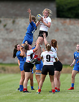 24 August 2019; Taryn Schutzler during the Under 18 Girls Interprovincial Rugby Championship match between Ulster and Leinster at Armagh RFC in Armagh. Photo by John Dickson / DICKSONDIGITAL