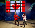 Vancouver 2010.<br /> Highlights from the flag bearer announcement and pep rally // Faits saillants de l'annonce du porte-drapeau et du rassemblement d'encouragement. 03/10/2010.