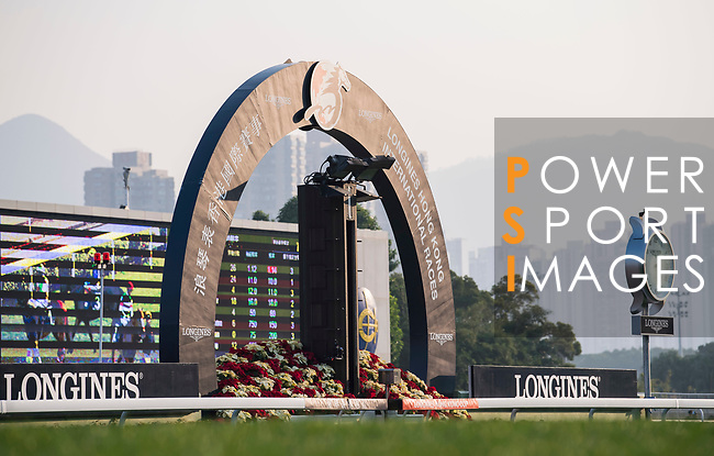 Sha Tin Racecourse is seen in the Longines Hong Kong Cup (G1, 2000m) during the Longines Hong Kong International Races on December 10 2017, in Hong Kong, Hong Kong. Photo by Victor Fraile / Power Sport Images
