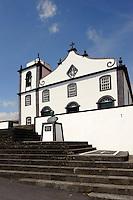 Kirche in Sao Joao auf der Insel Pico, Azoren, Portugal