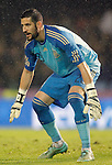Spain's Kiko Casilla during international friendly match.November 18,2014. (ALTERPHOTOS/Acero)