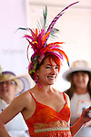 March 28, 2015: Scenes from Louisiana Derby Day at the New Orleans Fairgrounds. Steve Dalmado/ESW/CSM