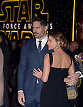 Joe Manganiello and Sofia Vergara Manganiello<br /> <br /> <br />  at Star Wars: The Force Awakens World Premiere held at El Capitan Theatre in Hollywood, California on December  14,2015                                                                   Copyright 2015Hollywood Press Agency
