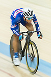 Ho Kin Ming of the Cyclone competes in Men Junior - Omnium IV Points Race 20KM during the Hong Kong Track Cycling National Championship 2017 on 25 March 2017 at Hong Kong Velodrome, in Hong Kong, China. Photo by Chris Wong / Power Sport Images